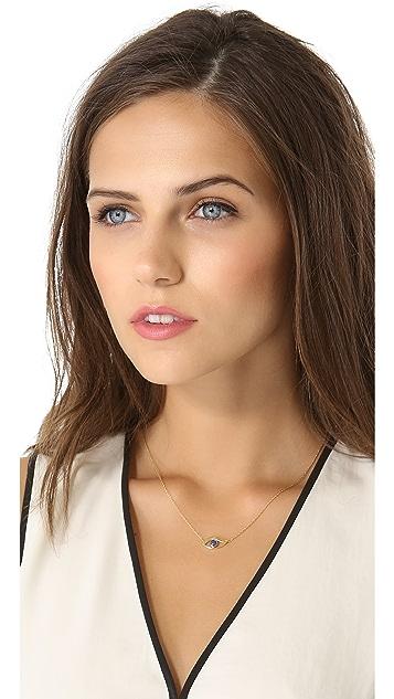 Jennifer Zeuner Jewelry Eye with Lapis Necklace