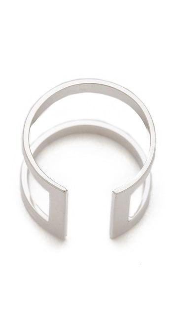 Jennifer Zeuner Jewelry Rectangle Band Ring