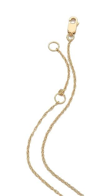 Jennifer Zeuner Jewelry Priscilla Large Eye Necklace