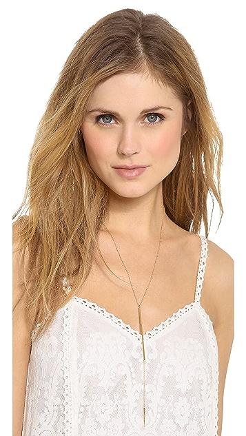 Jennifer Zeuner Jewelry Pamola Lariat Necklace