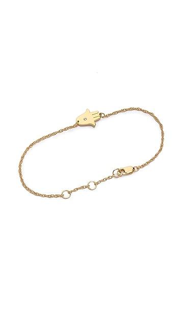 Jennifer Zeuner Jewelry Mini Hamsa Bracelet