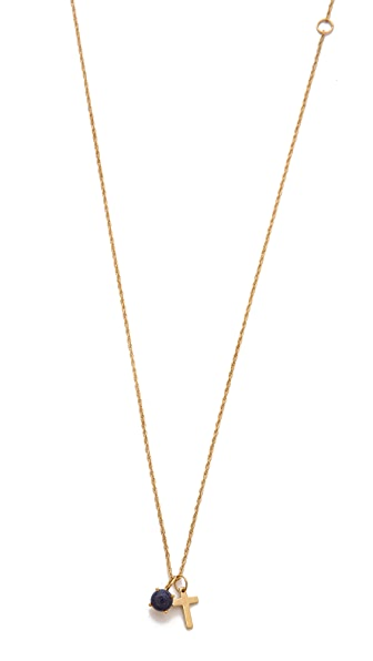Jennifer Zeuner Jewelry Scarlet Cross Necklace
