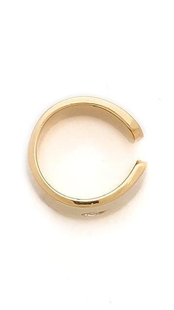 Jennifer Zeuner Jewelry Violet Ear Cuff