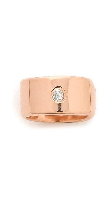 Jennifer Zeuner Jewelry Diamond Violet Ear Cuff