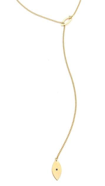 Jennifer Zeuner Jewelry Nazar Lariat Necklace