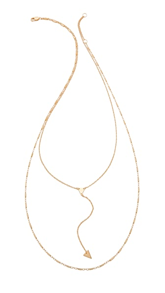 Jennifer Zeuner Jewelry Double Layer Necklace