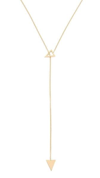 Jennifer Zeuner Jewelry Sasha Lariat Necklace