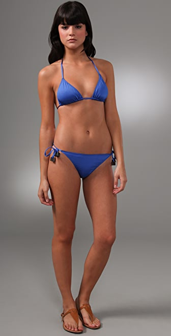 Zimmermann Copy Cat Triangle Bikini