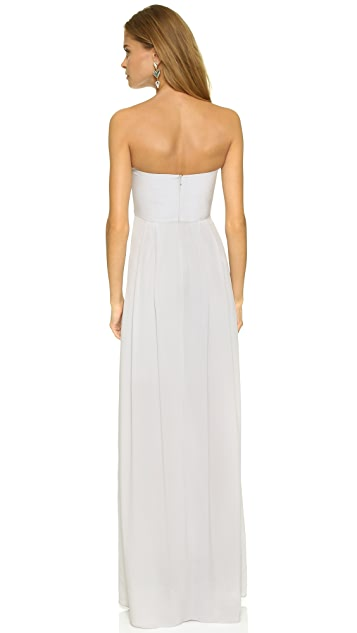 Zimmermann Strapless Maxi Dress