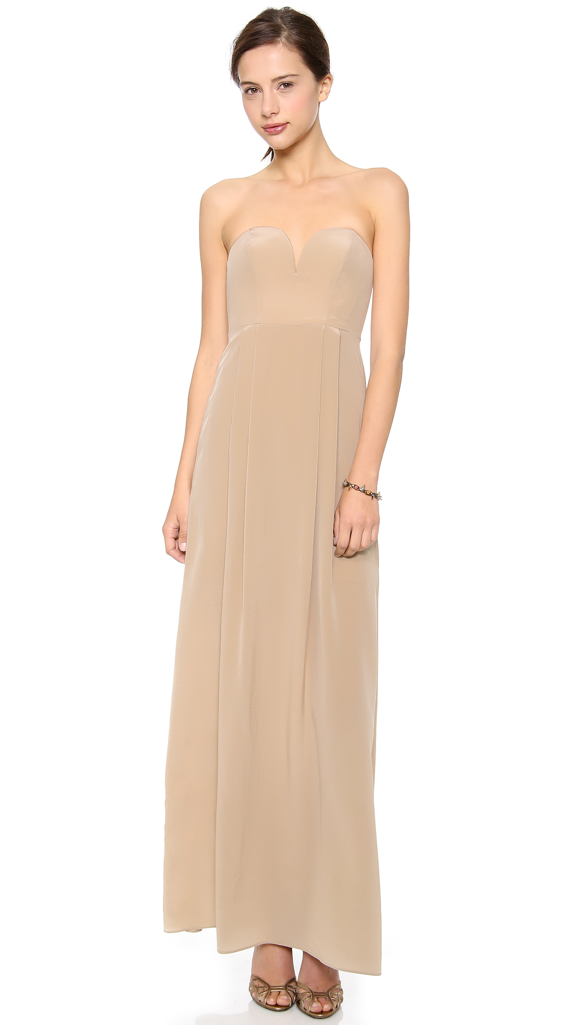 2a2b8970d7c5 Zimmermann Strapless Maxi Dress | SHOPBOP