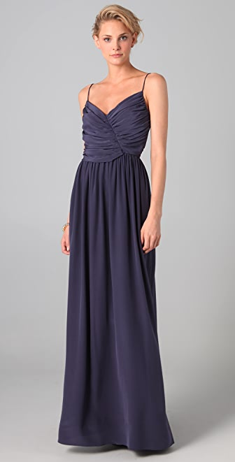 Zimmermann Range Ballerina Drape Maxi Dress