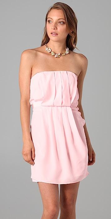 Zimmermann Folding Strapless Dress