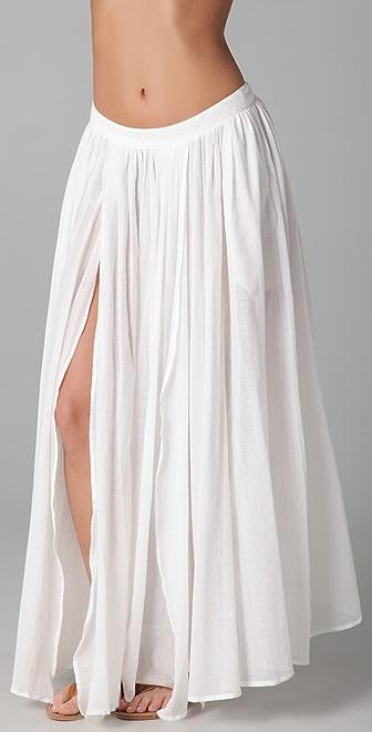 Zimmermann Charmer Split Skirt