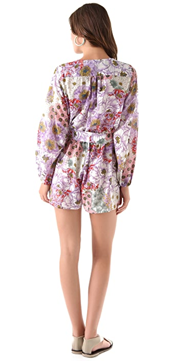 Zimmermann Meadow Playsuit Cover Up