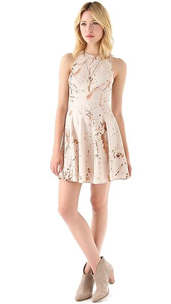 Zimmermann Spilt Coffee Mini Dress