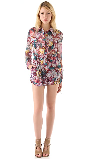 Zimmermann Flip Side Romper