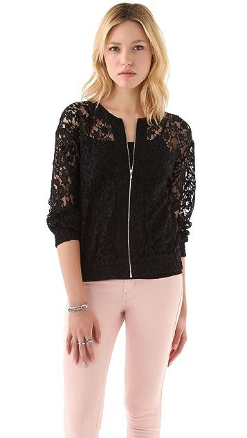 Zimmermann Flip Side Lace Jacket
