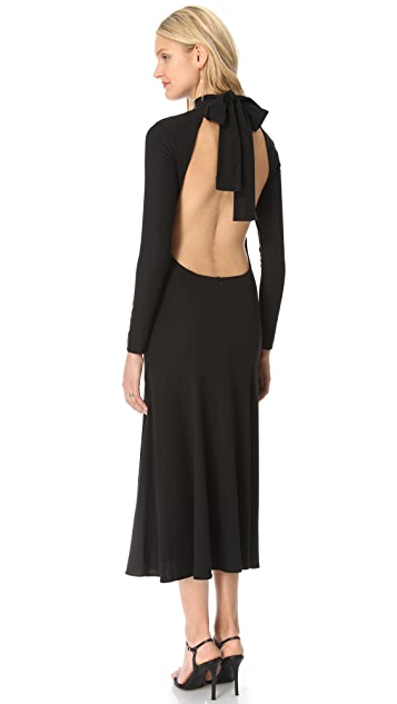Zimmermann Backless Maxi Dress
