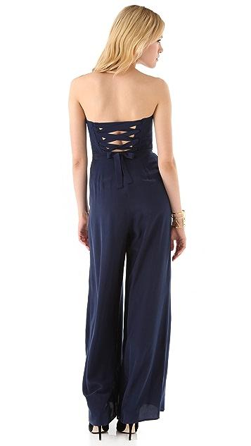 Zimmermann Lace Back Jumpsuit