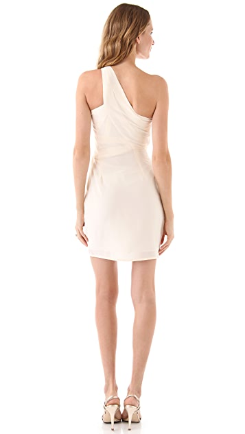 Zimmermann One Shoulder Dress