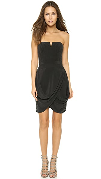 Zimmermann Laced Strapless Dress