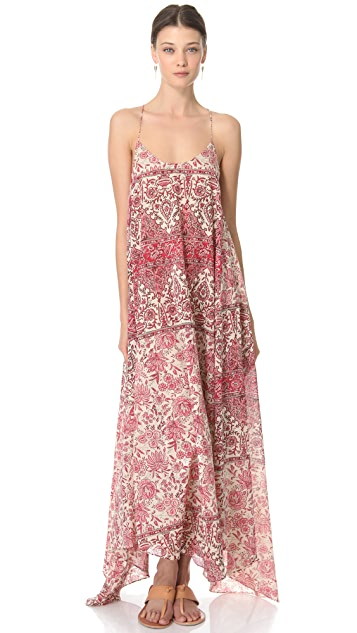 Zimmermann Runaway Scarf Hem Cover Up Dress