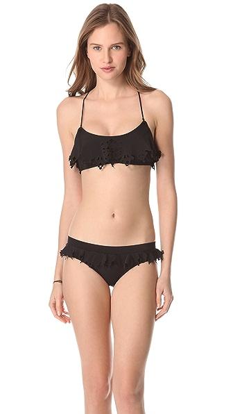 Zimmermann Noir Perforated Bikini