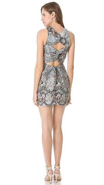 Zimmermann Rising Feather Twist Dress
