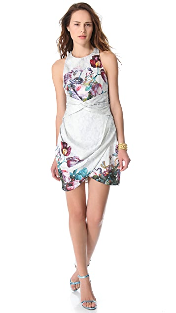Zimmermann Dazed Botanical Twist Dress