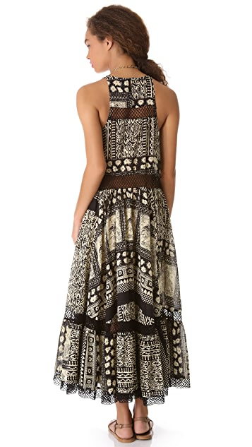 Zimmermann Wanderlust Lattice Cover Up Dress