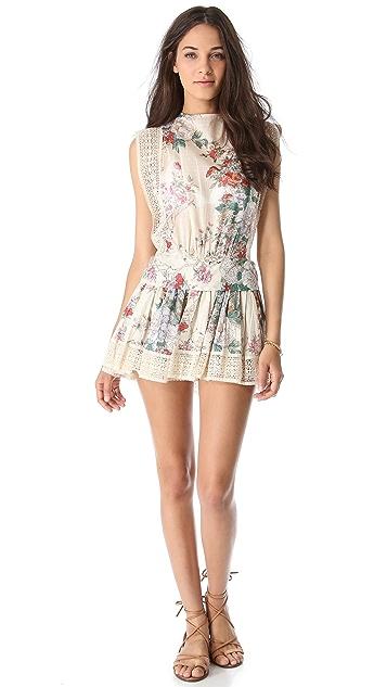 Zimmermann Stardust Backless Cover Up Dress