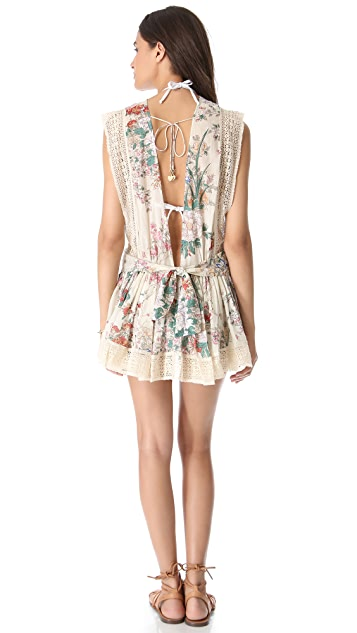 Zimmermann Stardust Backless Cover Up Dress