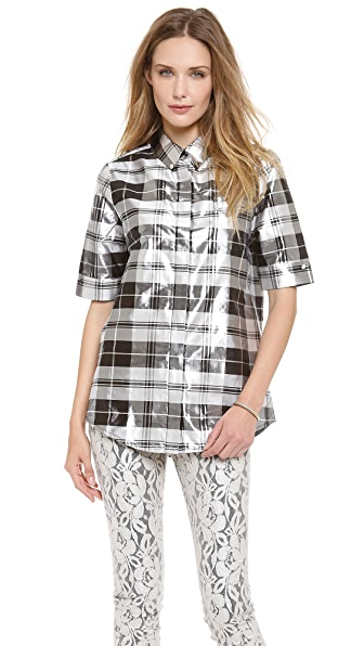 Zimmermann Valiant Mirror Check Shirt