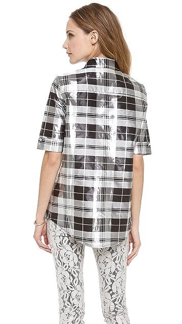 Zimmermann Valiant Mirror Check Shirt
