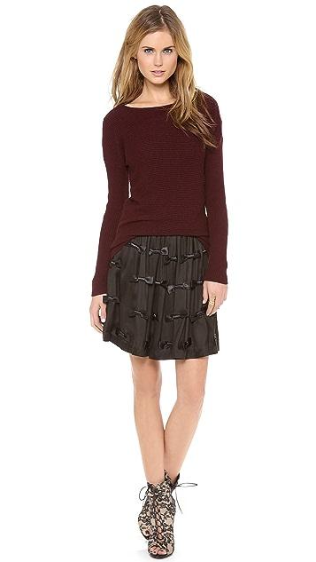 Zimmermann Precocious Bow Skirt