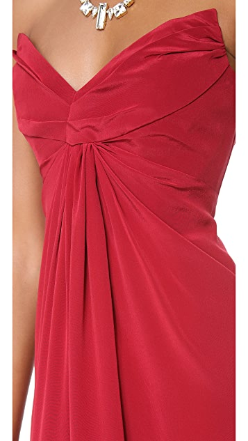 Zimmermann Strapless Dress