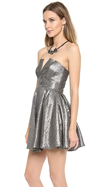 Zimmermann Twist Strapless Dress