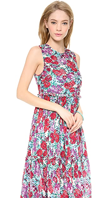 Zimmermann Verano Floral Cover Up Dress