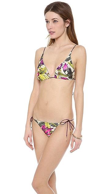Zimmermann Vivid Reversible Triangle Bikini