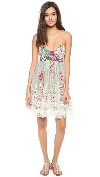 Zimmermann Sundance Embroidered Cover Up Dress
