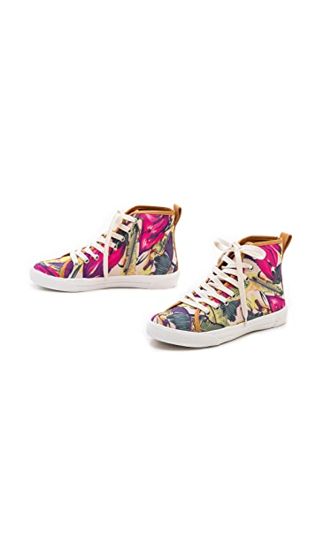 Zimmermann Floral Printed Sneakers