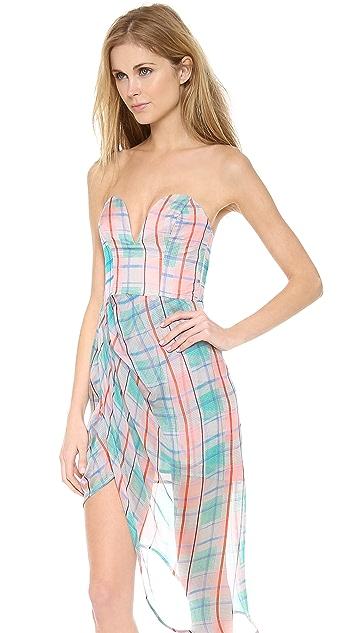Zimmermann Good Love Plunge Dress