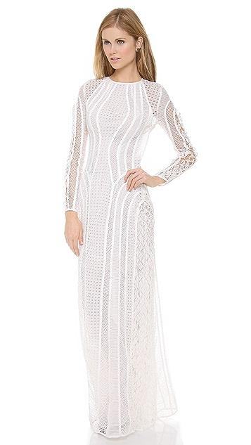 Zimmermann Good Love Contour Lace Dress
