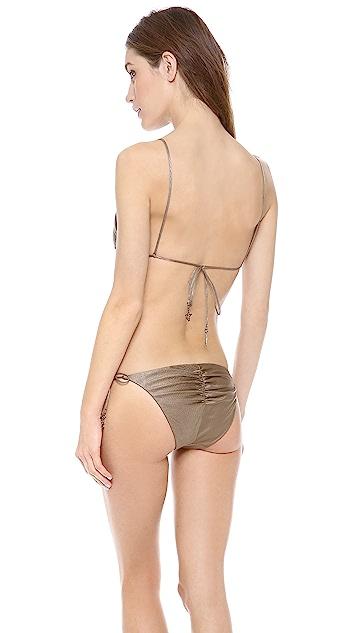 Zimmermann Scout High Triangle String Bikini