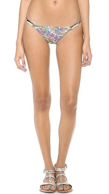 Zimmermann Paisley Low Link Bikini Bottoms