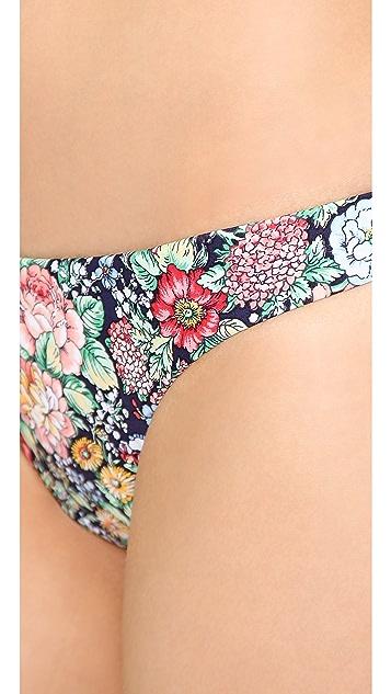 Zimmermann Floral Skinny Bikini Bottoms