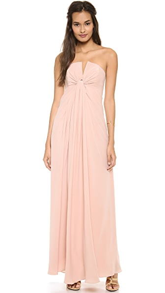 Zimmermann Silk V Long Dress