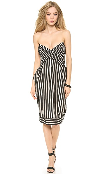 Zimmermann Tamer Tightrope Wrap Dress