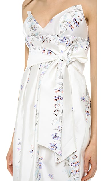 Zimmermann Ringmaster Paperbag Dress