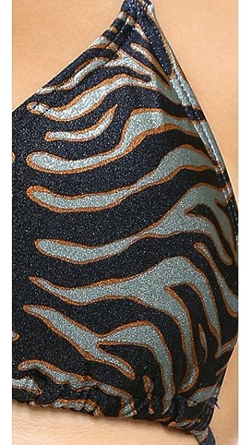 Zimmermann Triangle Bikini Top